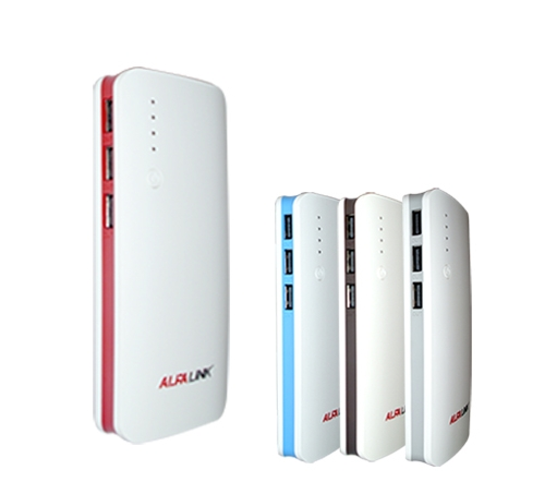 POWER BANK 11000F WHITE RED