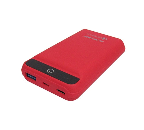 ALFA LINK POWER BANK 10000RQC RED