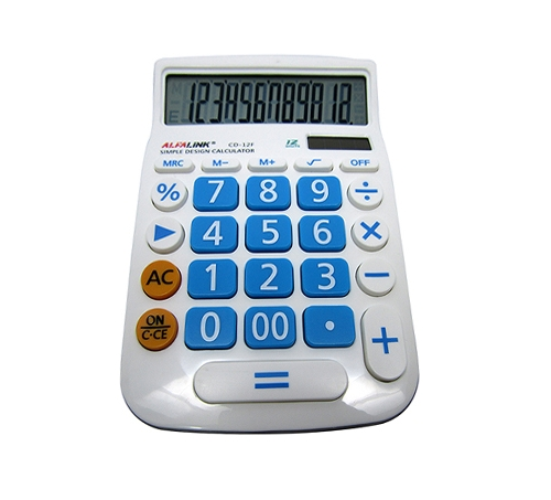 CALCULATOR CD-12F BLUE