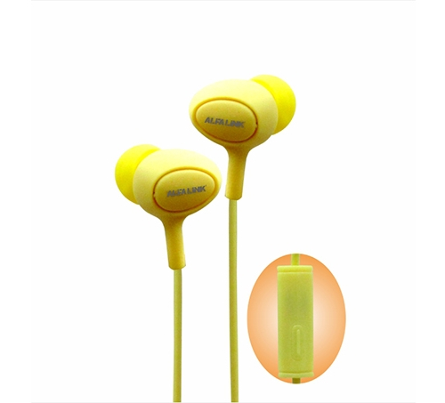 EARPHONE 30 YELLOW