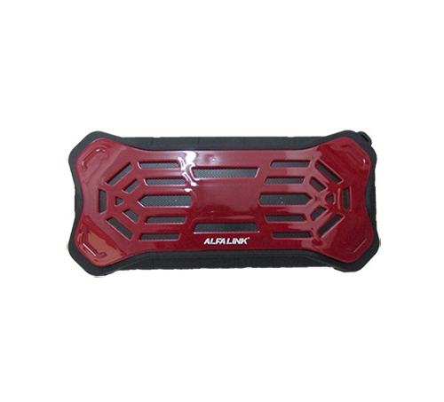 ALFA LINK BLUETOOTH SPEAKER BTS 475 DRAK RED PLUS