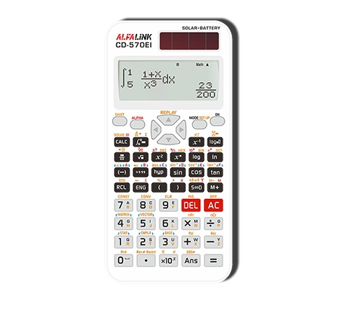 CALCULATOR & DICTIONARY CD-570EI WHITE