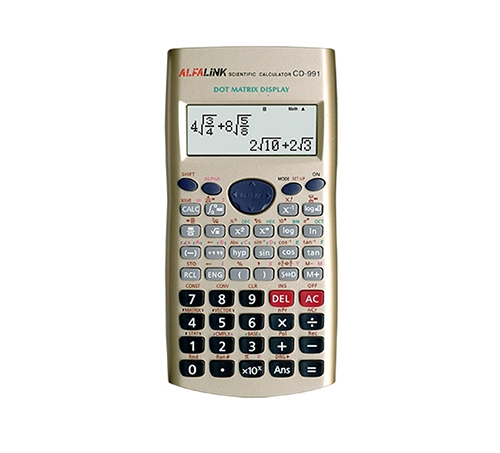 CALCULATOR CD-991 GOLD