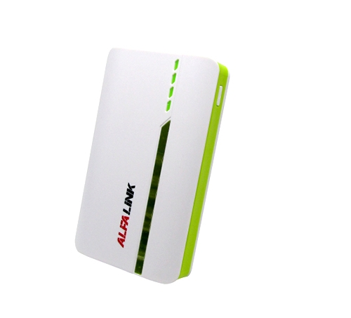 POWER BANK 6000F WHITE GREEN