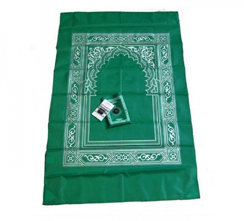 ALFA LINK TRAVEL PRAY MAT (SAJADAH + KOMPAS) GREEN