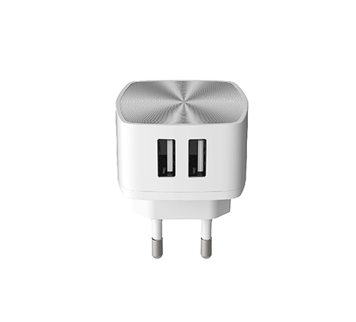 ALFALINK 2 USB CHARGER FAST CHARGING WHITE