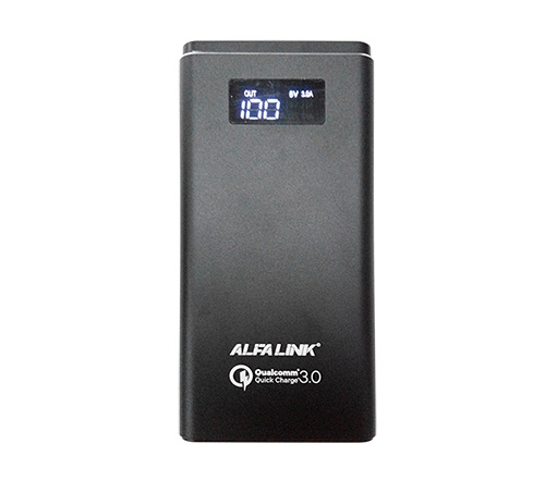 ALFA LINk POWER BANK AP 10000QC BLACK