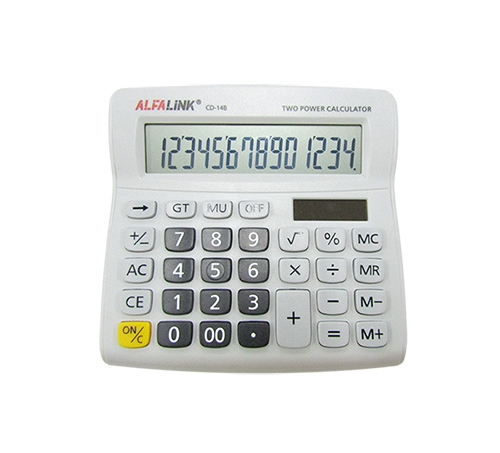 ALFA LINK CALCULATOR CD 14B BLACK