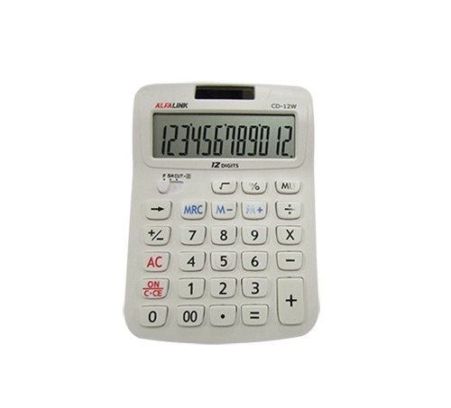 CALCULATOR CD-12W WHITE