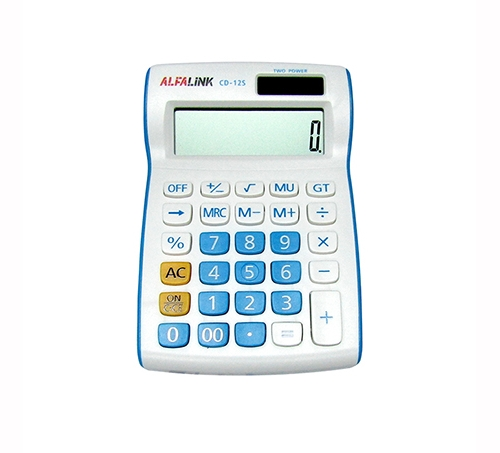 CALCULATOR CD-12S BLUE