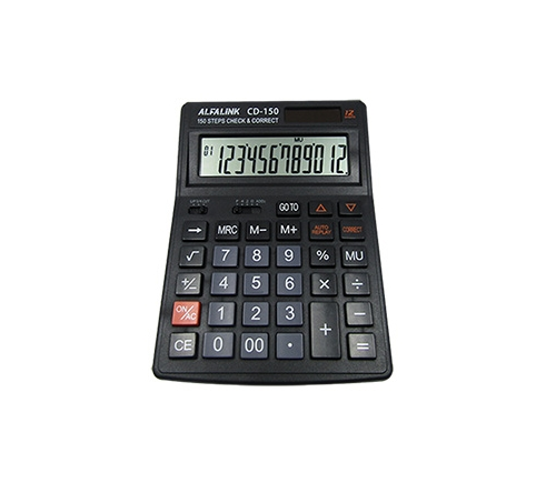 CALCULATOR CD-150 BLACK