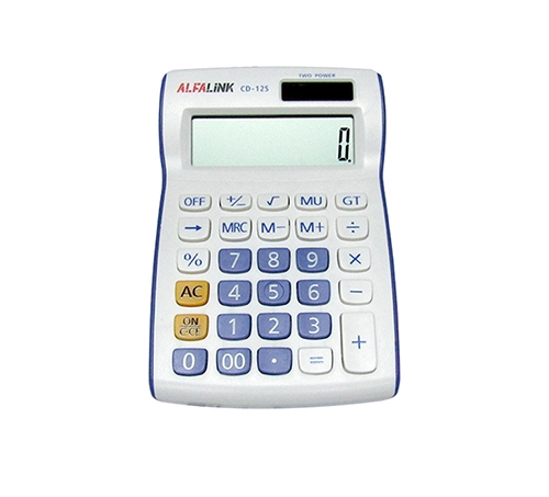 CALCULATOR CD-12S VIOLET