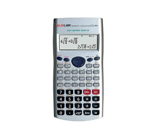 CALCULATOR CD-991 SILVER