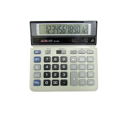 CALCULATOR DC-868