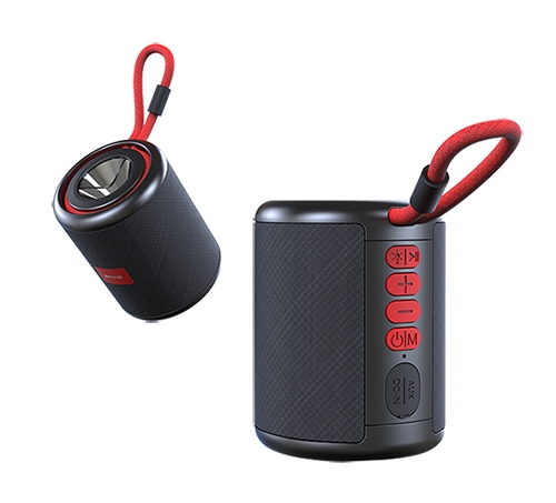 BLUETOOTH SPEAKER BTS V4 RED