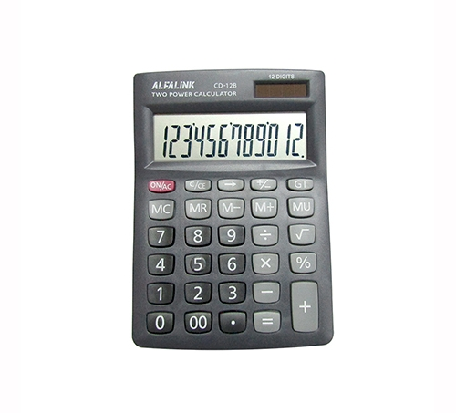 CALCULATOR CD-12 GREY